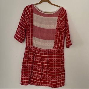 Ace & Jig peasant dress , size small. EUC